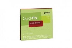 Pleistrai QuickFix Blood Stopper (pakuotė 45 vnt.)