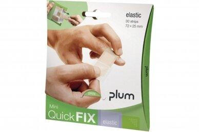 Pleistrai QuickFix Mini, elastiniai (pakuotė 30 vnt.)